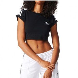 Adidas Originals Crop Top T-shirt Size L